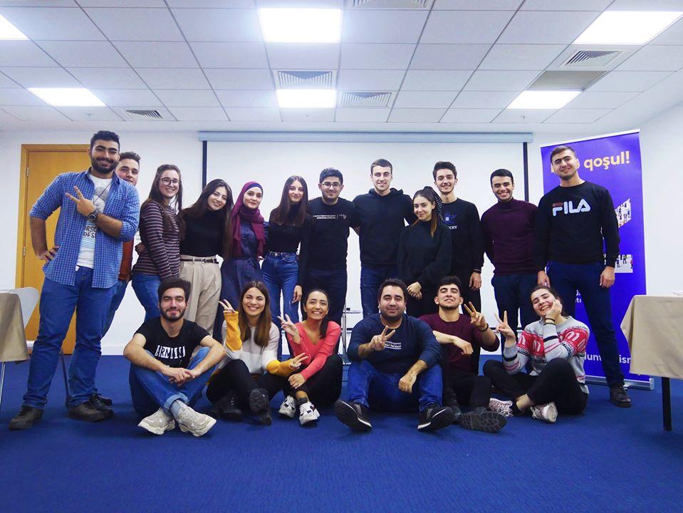 Training Meeting with Tourism Volunteers Organization